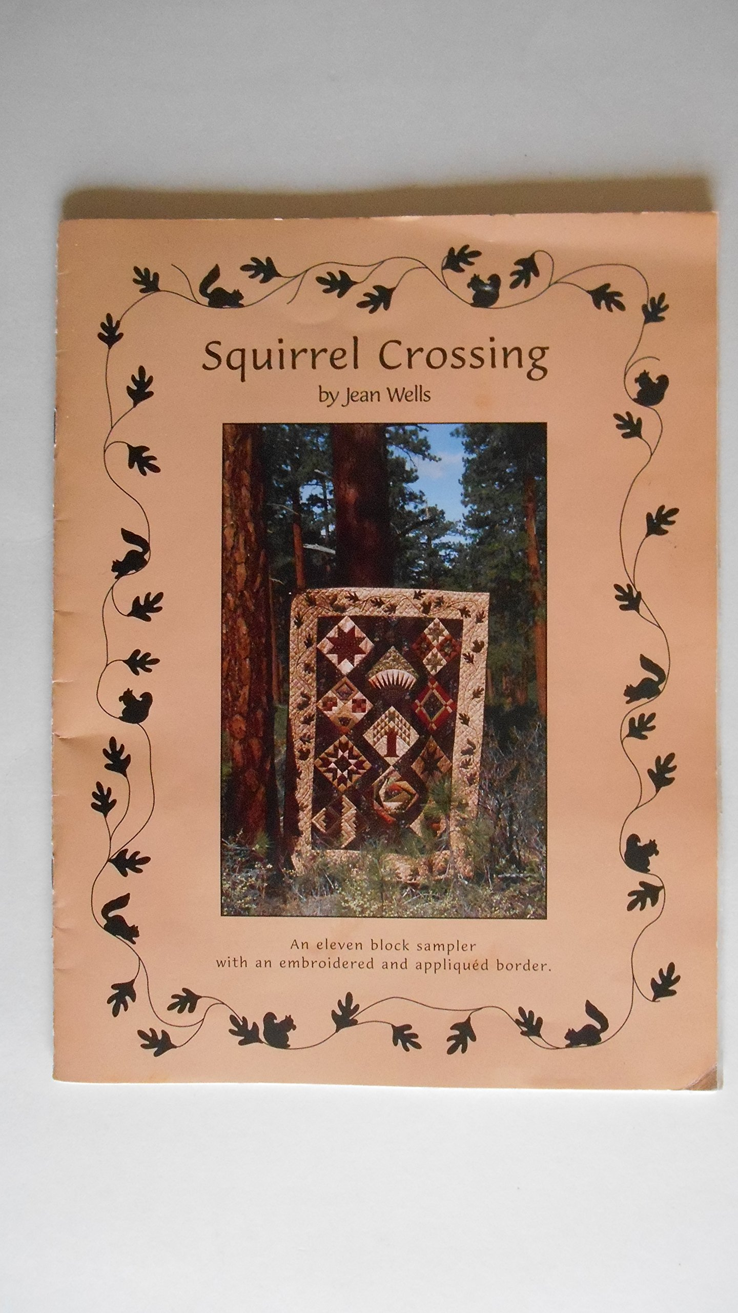 Squirrel Crossing : An Eleven Block Sampler with an Embroidered and Appliqued Border