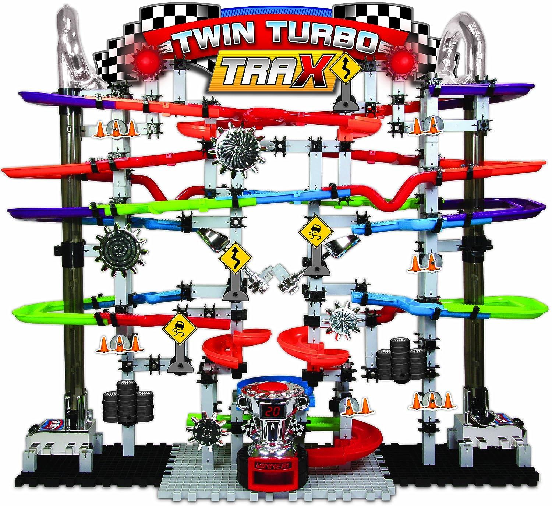 Learning Journey Racing Series Tecno Engranajes Marble Mania Twin Turbo Trax 2.0: Amazon.es: Juguetes y juegos