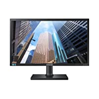 Samsung S24E650PL 59,94 cm (23,6 Zoll) Monitor (D-Sub, DisplayPort, 4ms Reaktionszeit, 1920 x 1080 Pixel) Schwarz