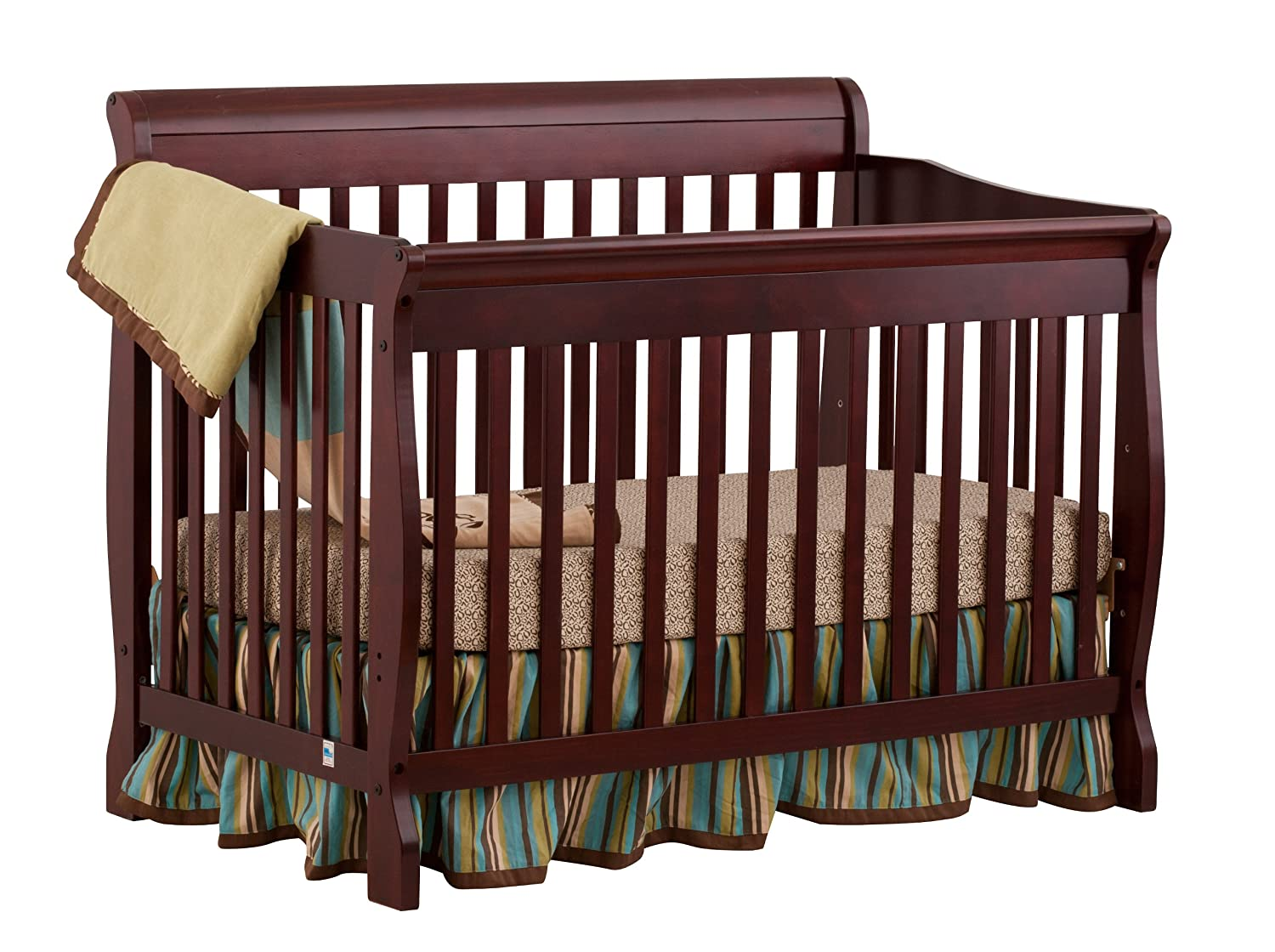 crib storkcraft cribs shipping piece convertible set avalon free drawer espresso dresser gray double nursery in and tuscany
