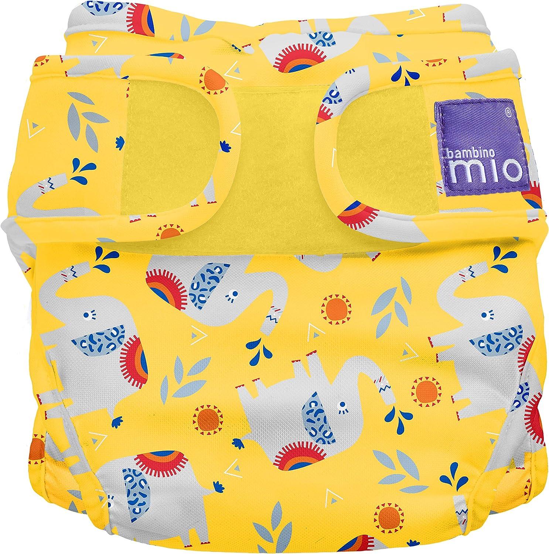 Size 1 9 kg Savanna Stripes Bambino Mio Miosoft Reusable Nappy Cover