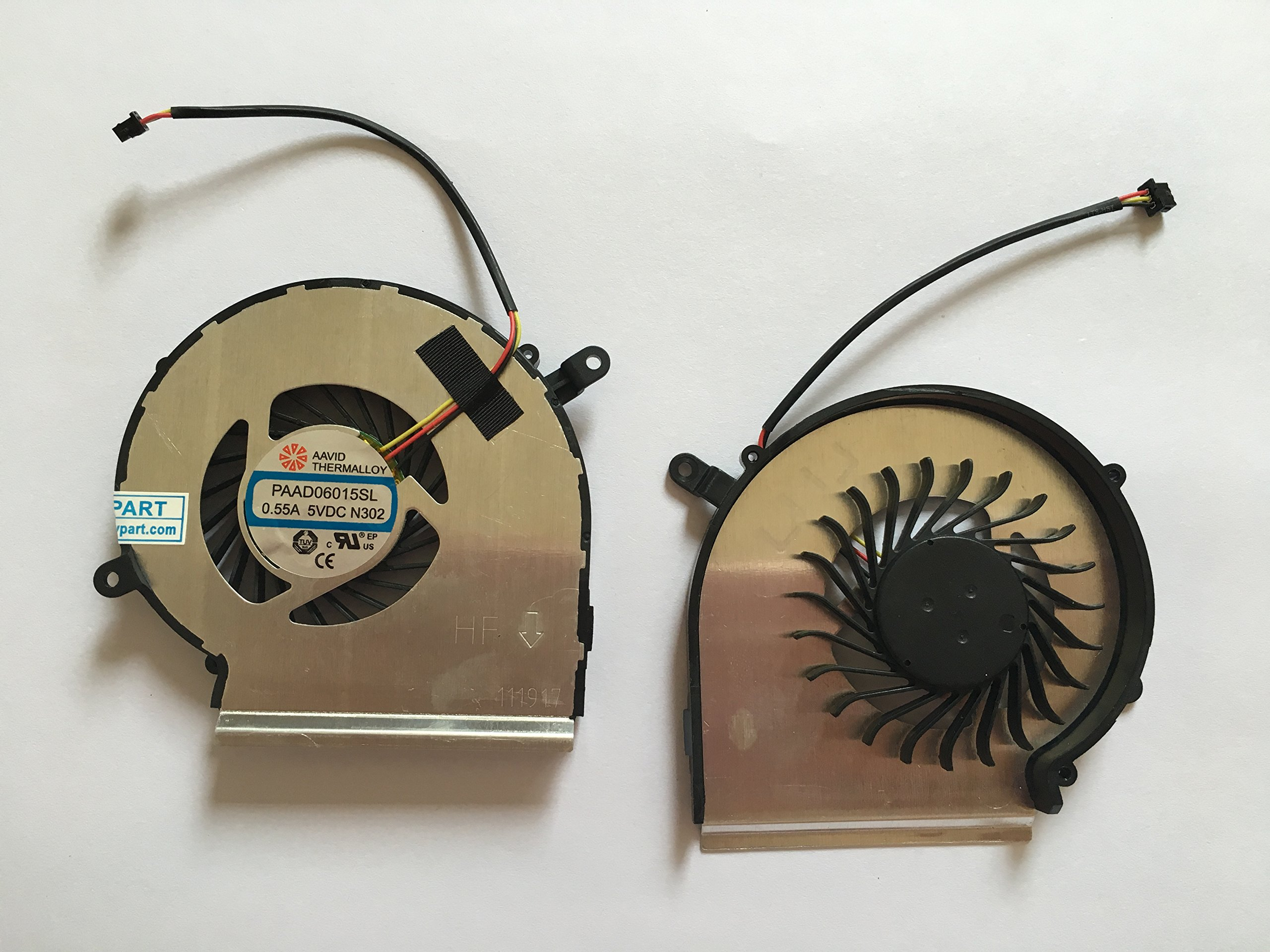 HK-Part Gpu Cooling Fan For AAVID THERMALLOY PAAD06015SL 0.55A 5VDC N302 , 3-Pin 3-Wire