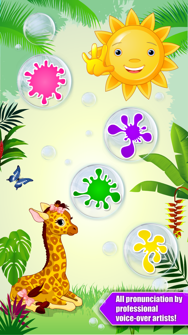 Preschool All-In-One Learning - Bubble School Adventure Basic Skills A to Z: Learn to Read and Count with Animals and 220 Interactive Flash Cards - Educational Toy for Baby, Toddler & Kindergarten Explorers by Abby Monkey® Games for Kids