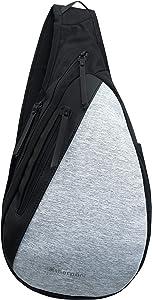 Sherpani Esprit, Anti Theft Travel Sling Bag, Shoulder Sling Bag, Crossbody Shoulder Chest for Women with RFID Protection (Sterling)