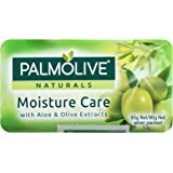 Palmolive Naturals Bar Soap Moisture Care Aloe and Olive Extracts, 4 x 90g