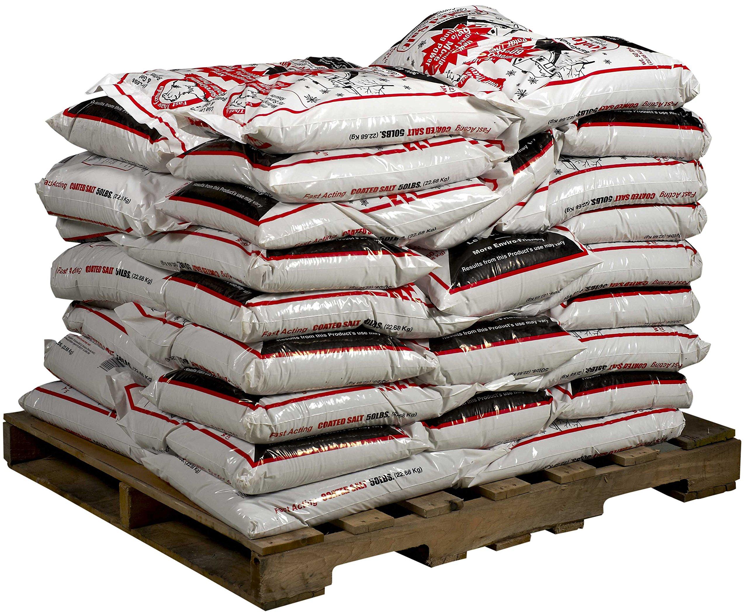 Bare Ground BGCS-50P Premium Coated Granular Ice Melt, 50 lbs (Pallet of 45)