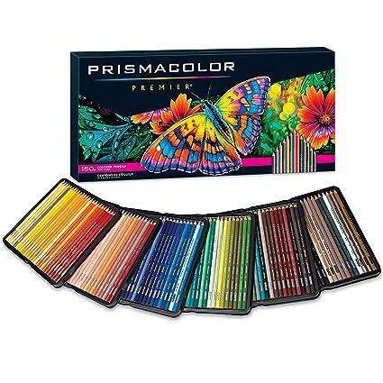 Amazoncom Prismacolor Premier Colored Pencils Soft Core 150