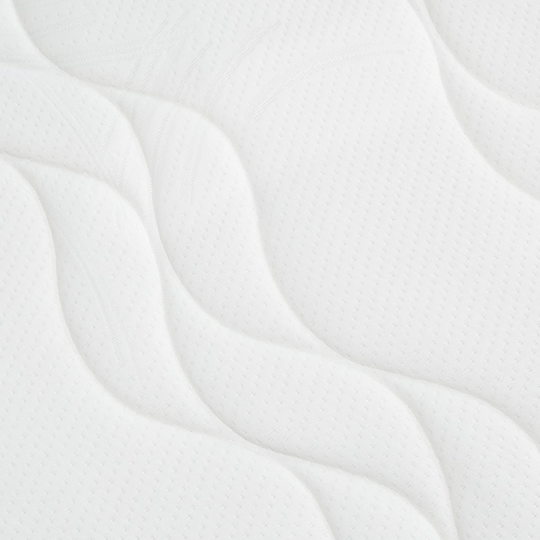 AmazonBasics - Colchón extra confort de espuma viscoelástica de 7 zonas, Firmeza media (H3) - 140 x 200 cm: Amazon.es: Hogar