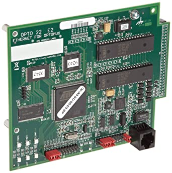 Opto 22 E1 16 Channel Digital Optomux Brain Board for Serial and Ethernet Networks 5.0-5.2 VDC at 0.5 Amps