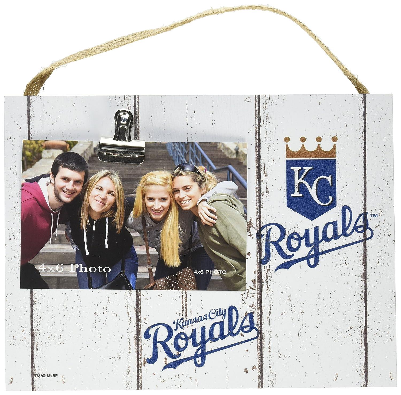 "KH Sports Fan 10""x8"" Weathered Kansas City Royals Clip It Logo Photo Frame, 10"" x 8"""
