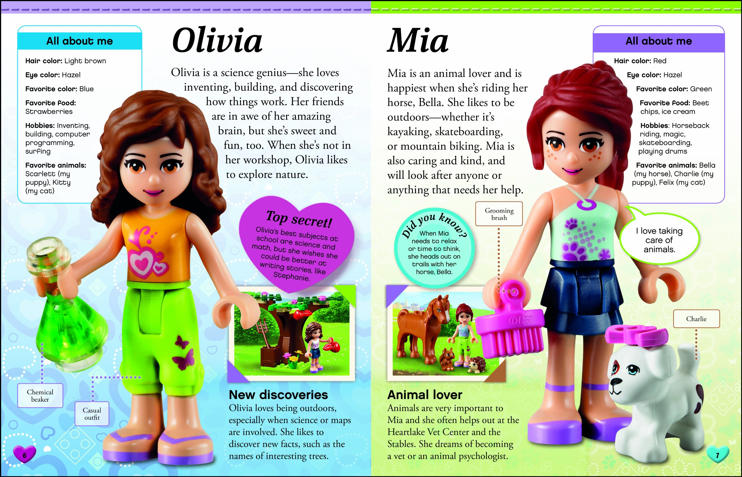 Lego Friends Character Encyclopedia The Ultimate Guide To The