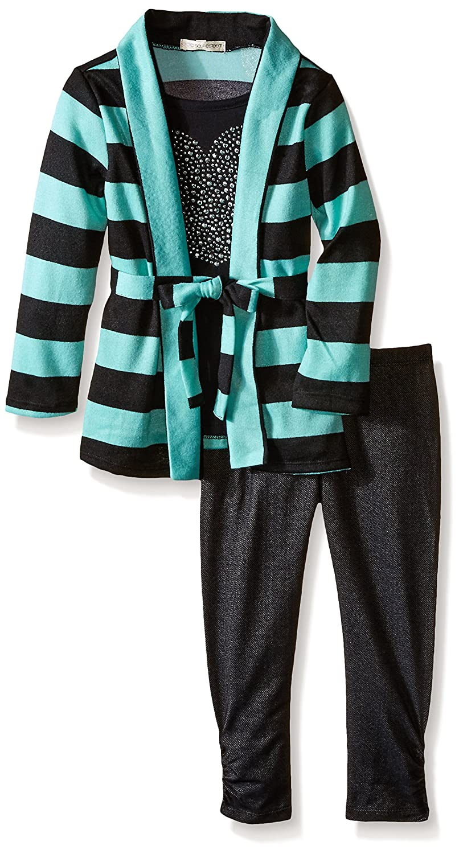 Self Esteem Girls Sweater Knit Cozy Leg Set