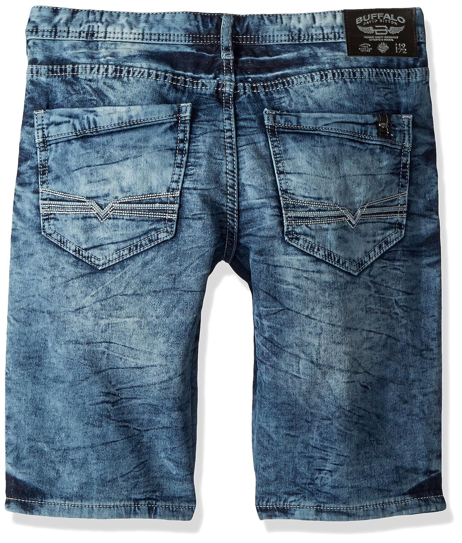 Buffalo David Bitton Boys Big Parker-x Slim Fit Short