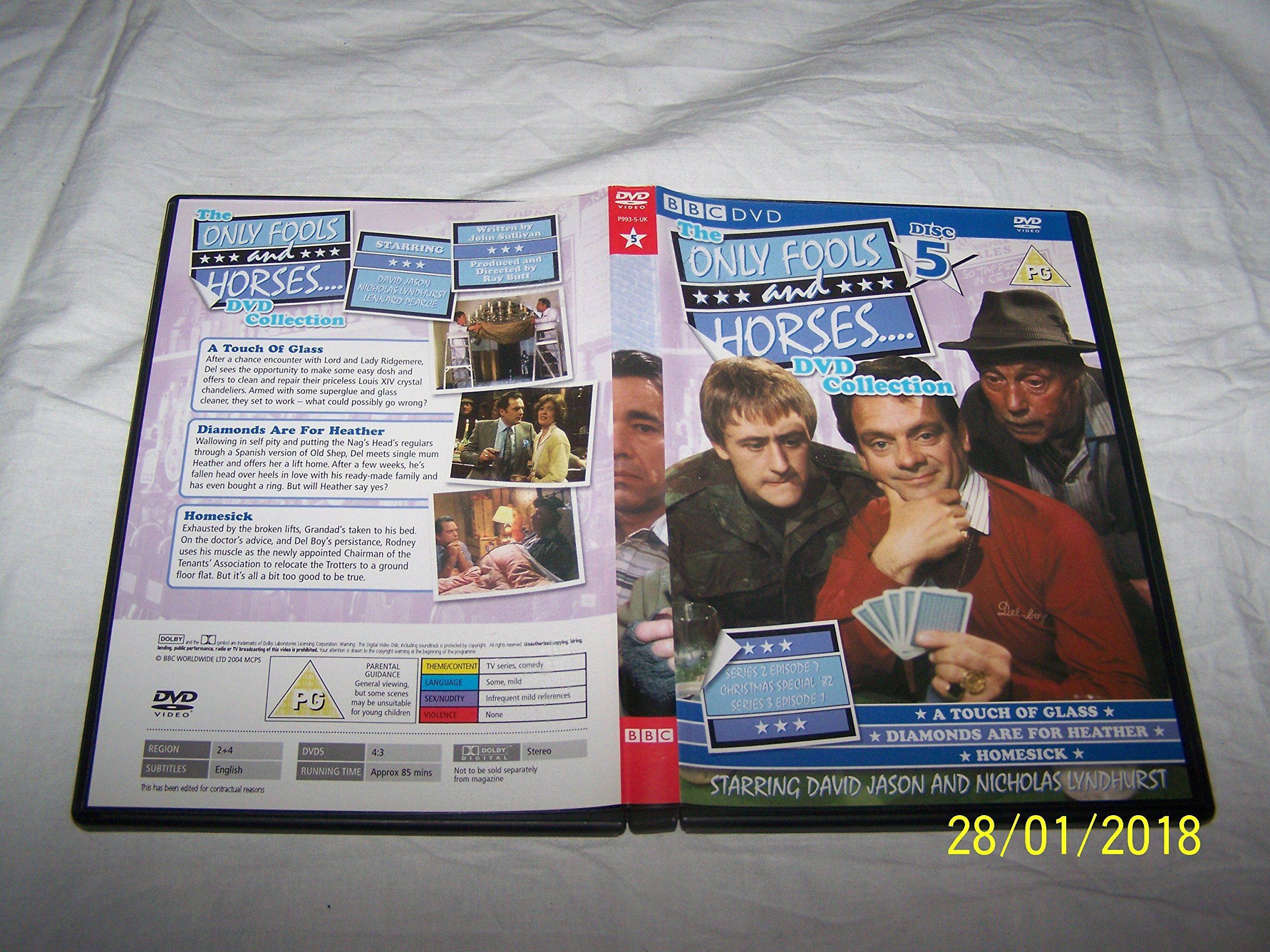 Only Fools & Horses DVD Collection Disc 5 - A Touch Of Glass ...