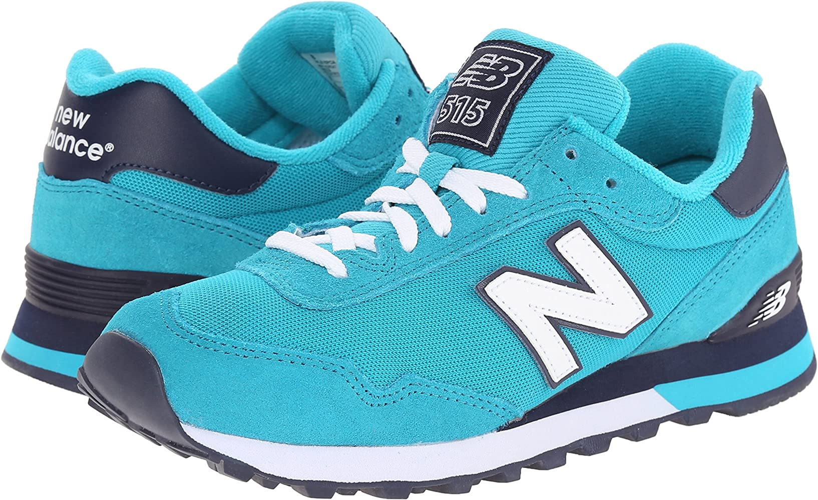 New Balance Mujer WL515 Pique Polo Pack Running Shoe, Teal, 41 B ...