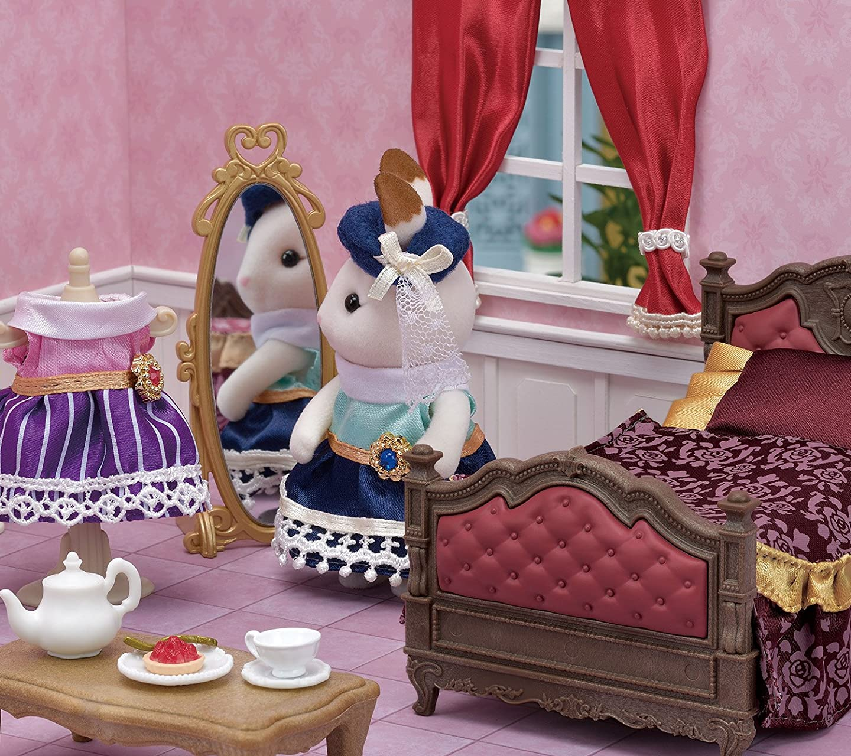 シルバニアファミリー タウンシリーズ 街のベッド HD(1440×1280)スマホ 壁紙・待ち受け
