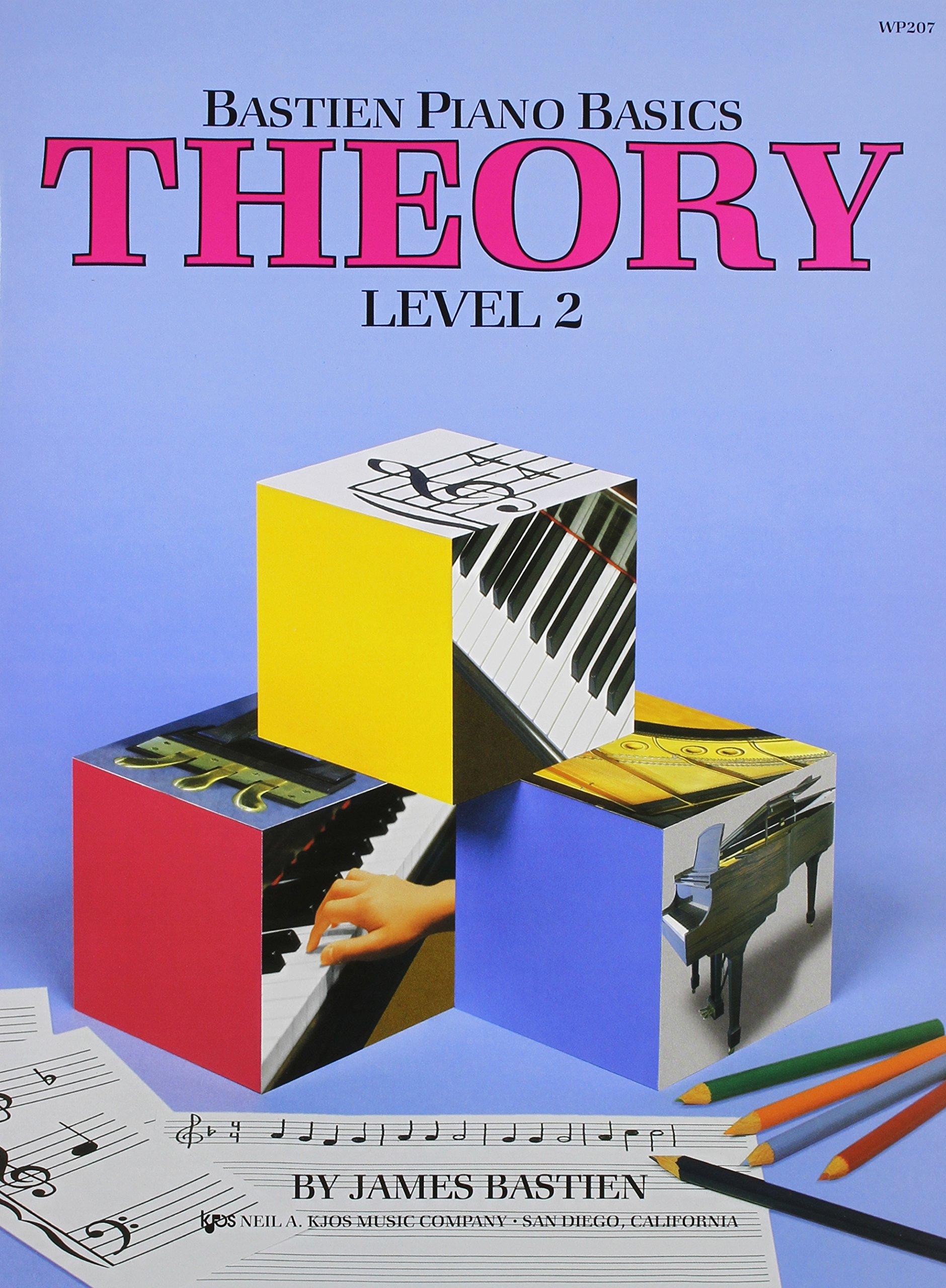 WP207 - Bastien Piano Basics - Theory Level 2
