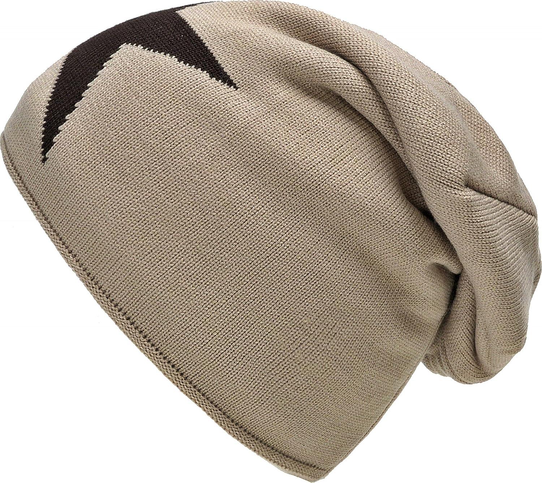 Caldo cappello invernale Beanie Knit Hat autunno con Star Fleece Lining grigio nero taupe grigio chi...
