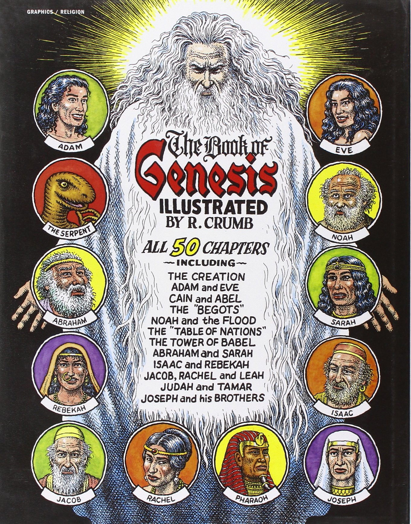 the book of genesis illustrated by r crumb r crumb
