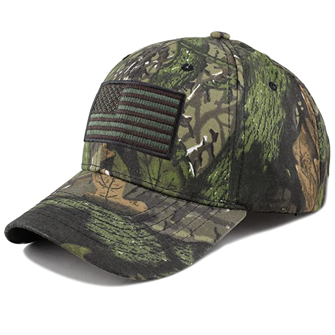 d424009ec2a Amazon.com  THE HAT DEPOT Tactical Operator USA Flag Cap (Flag-Real ...