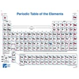 Giant periodic table of the elements simplified amazon american educational 4 color periodic table wall chart 49 12 length x urtaz Choice Image
