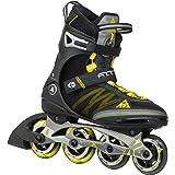 ケーツー F.I.T X PRO メンズ インラインスケート ガンメタル/イエロー I150201201