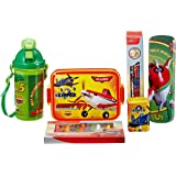 Disney Pixar Planes back to School stationery combo set, 999, Multicolor