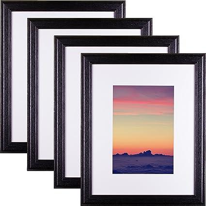 Amazon Craig Frames 2364bk Hardwood Picture Frame With Single