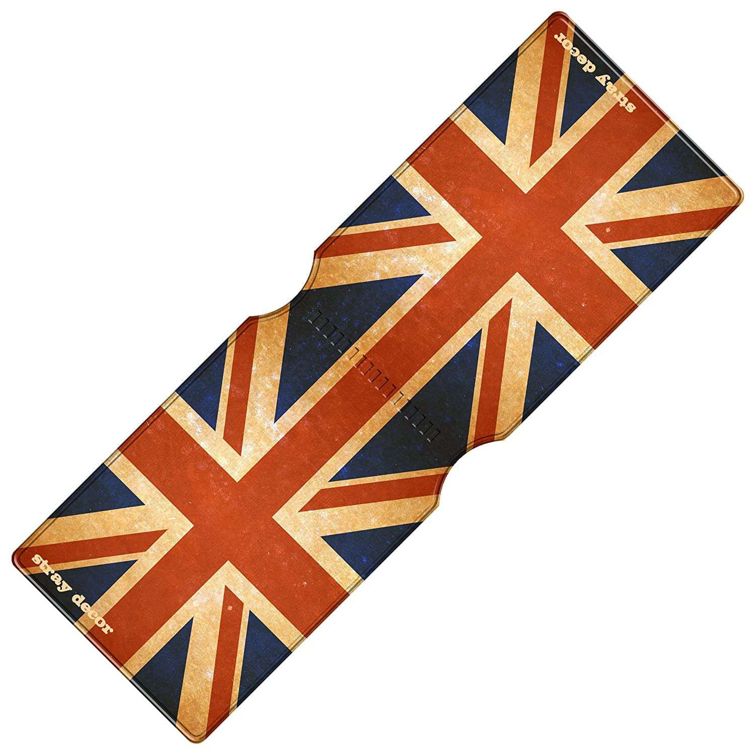 Stray Decor - Funda de abono de transporte multicolor Artistic Union Jack talla única: Amazon.es: Equipaje