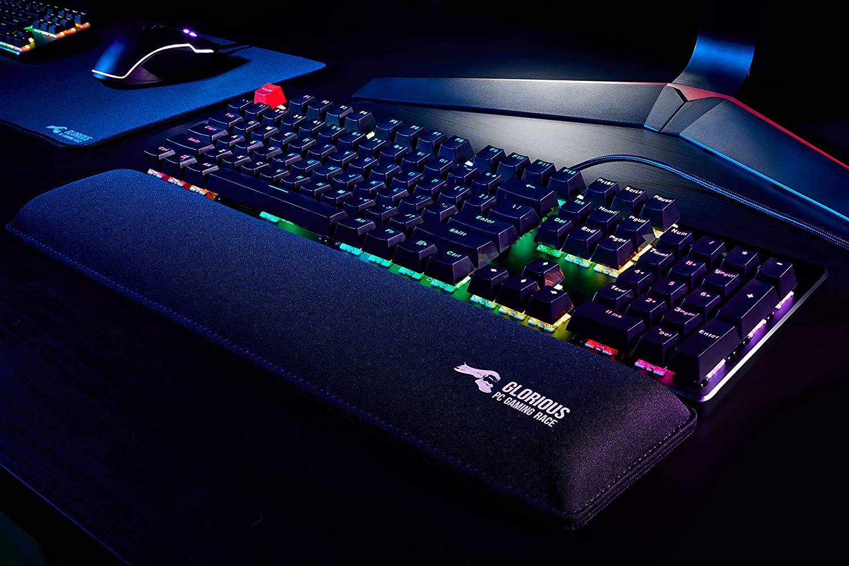 2b01f945cfa Amazon.com: Glorious Modular Mechanical Gaming Keyboard - Full Size (104  Key) - RGB LED Backlit, Brown Switches, Hot Swap Switches (Black)(GMMK-BRN):  ...