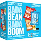 Enlightened Bada Bean Bada Boom Plant-Based Protein, Gluten Free, Vegan, Non-GMO, Soy Free, Roasted Broad Fava Bean…