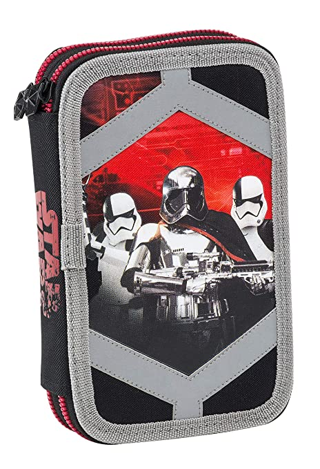 Graffiti Star Wars Estuches, 20 cm, Negro (Black)
