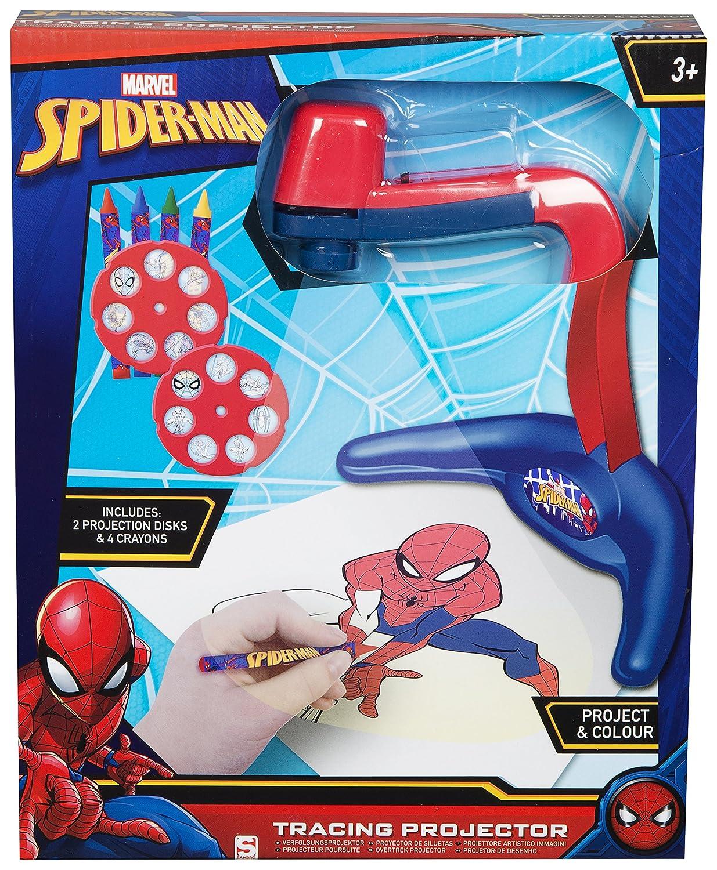Estación de proyección de Color Spiderman Tracing Drawing ...