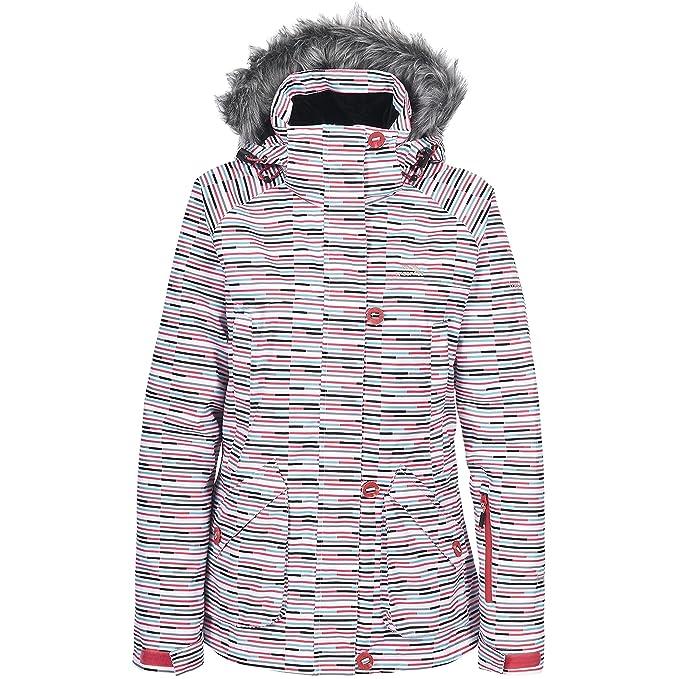 Trespass - Chaqueta / abrigo para la nieve modelo Rondo para mujer (Extra Grande (