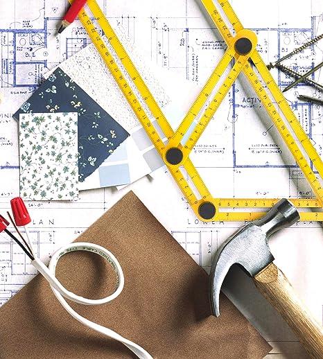 Winkel-Finder f/ür Unternehmer Werkzeug Handwerker /& Heimwerker Verstellbares Mess-Lineal um den richtigen Winkel zu Messen zu Einfaches Winkellineal in Maxform und Angle-izer Vorlagen-Werkzeug