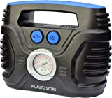 P.I. Auto Store - Tyre Inflator - Dual Electric Power 12V DC (vehicle) 220V - 240V AC (mains). Portable Air Compressor Pump - with storage bag…