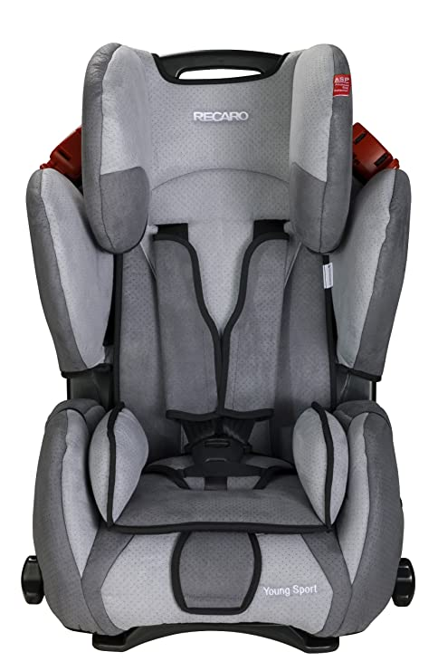 Recaro Young Sport, Silla de coche grupo 1/2/3, gris oscuro
