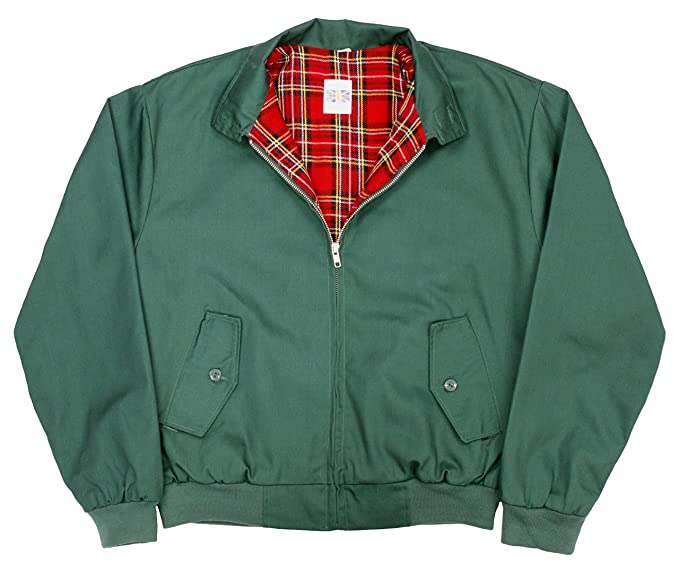 c937cfdfd26 Harrington Jacket with Tartan Lining (L