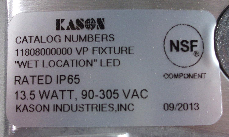 LED Vapor Proof Low Profile LED 135watt Led Fixture NSF Ideal for