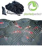 Filet de protection de 4,6x 6,1m pour bassin –Installation facile pour les piscines ou les bassins, protège les poissons et les carpes Koï des oiseaux et des feuilles–Résistant, couverture de sécurité transparente et aide à la conservation de la propreté et de la beauté de votre jardin aquatique