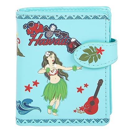 Shagwear - Monederos para mujeres jóvenes: Varios colores y diseños: (Aloha)