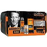 L'Oreal Men Expert Energy Bag Pflegeset, Deodorant, Gesichtscreme, Duschgel