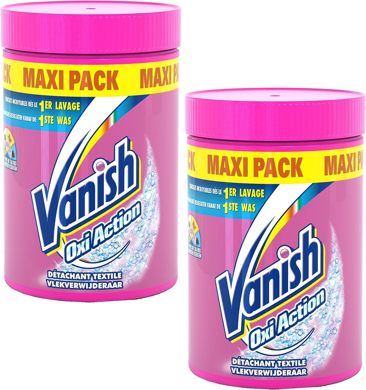 TALLA 1 Kg. Vanish Oxi Action–Quitamanchas en polvo 1kg–Lote de 2
