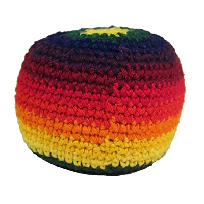 Hacky Sack - Rainbow: Sports & Outdoors
