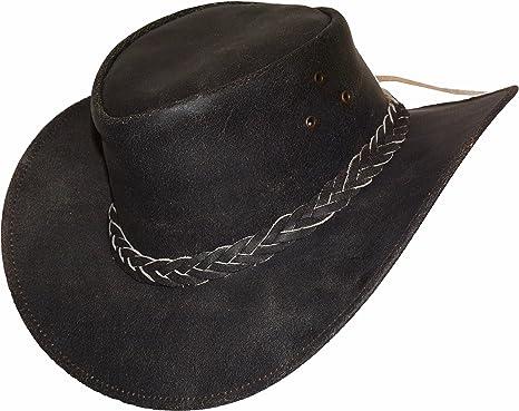 Homme Black Jungle Chapeau Western