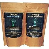 Etheric Bhringraj + Multani Mitti (Fuller's earth) Powder Combo (200 Gms)