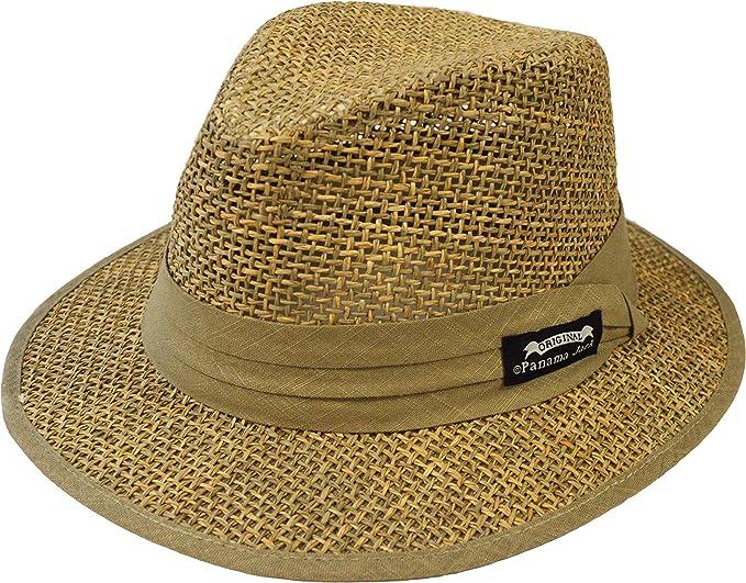 Panama Jack Sombrero Para Hombre Diseño De Seagrass Clothing