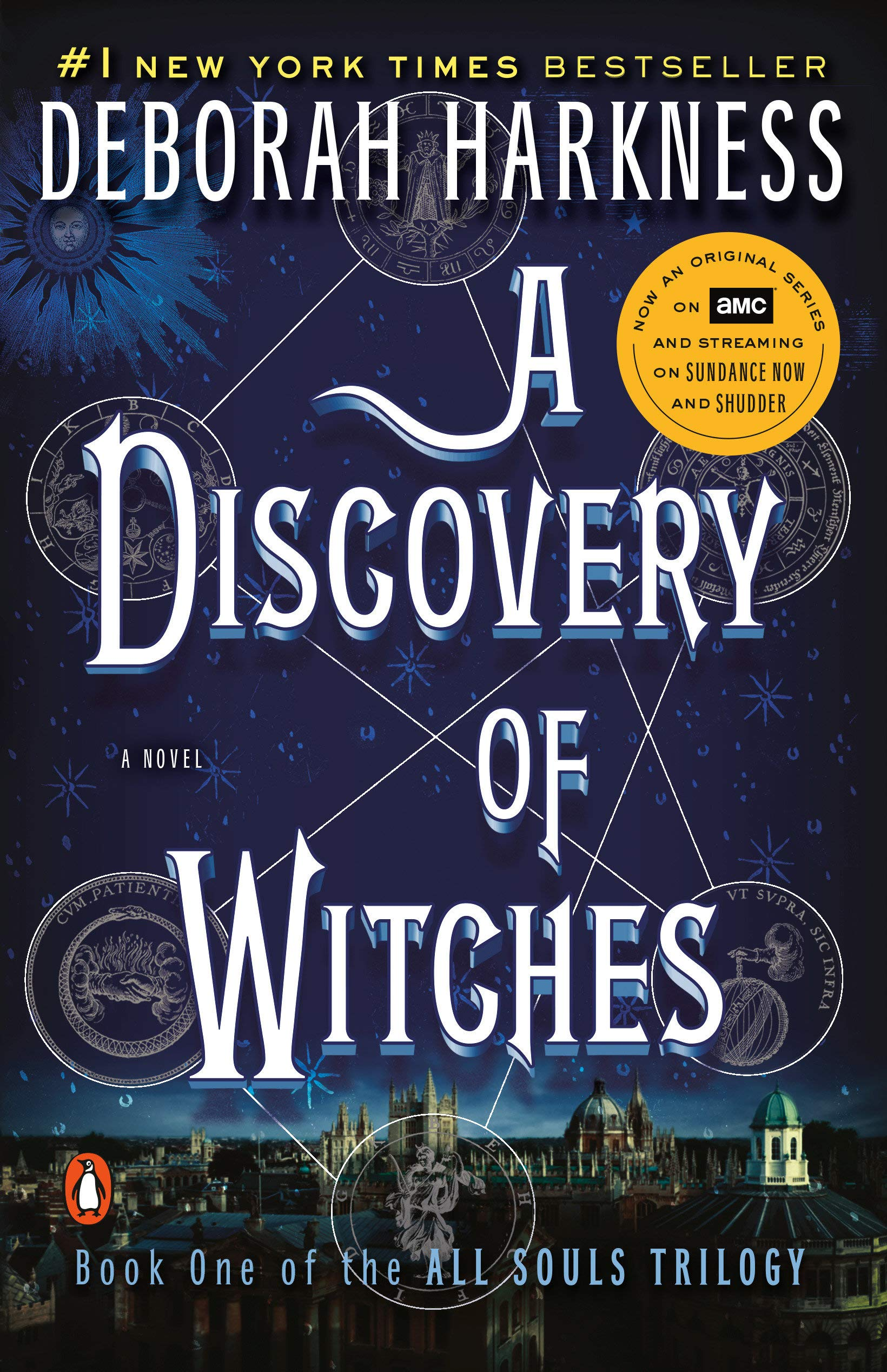 Amazon.com: A Discovery of Witches (All Souls Series) (9780143119685):  Harkness, Deborah: Books