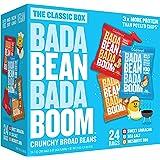 Bada Bean Bada Boom Plant-Based Protein, Gluten Free, Vegan, Crunchy Roasted Broad (Fava) Bean Snacks, 100 Calorie Packs, The