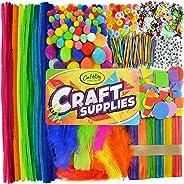 Carl & Kay [1750+ pcs] Arts & Crafts Supplies | Craft Supplies for Kids | Toddler Crafts & Sensory Items | Toddler Art Suppl
